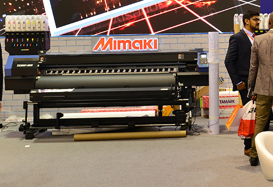Mimaki's New Hybrid Textile Printer
