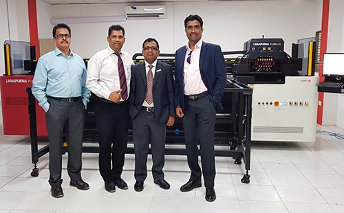 Col.Art invests in Agfa Graphics Anapurna H2500i LED printer