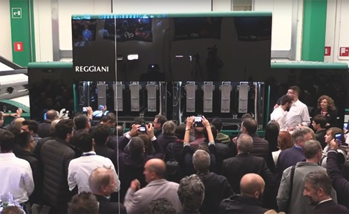 EFI unveils single-pass Reggiani BOLT Digital Textile printer