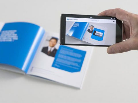 Augmented Reality Makes Print Interactive