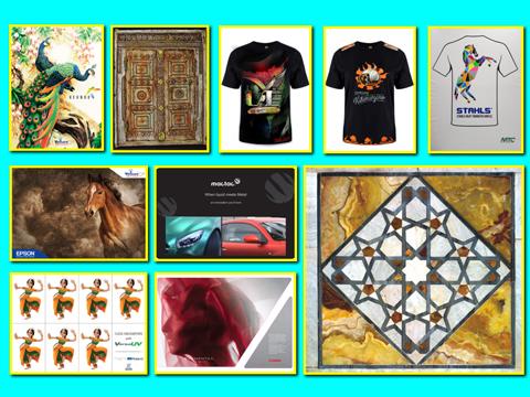 Wall of fame showcase creative masterpieces SGI Dubai 2019