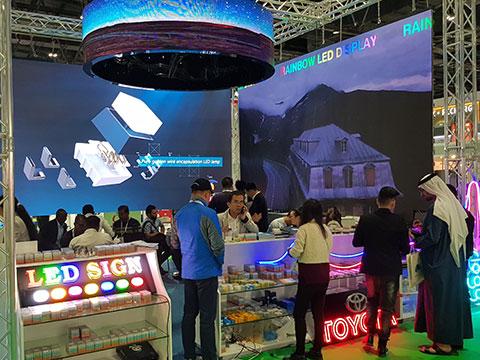 UAE digital display space set makeover 2020
