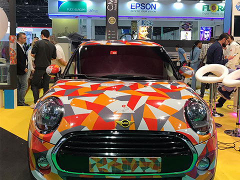 Car wrapping advertising grow 2020